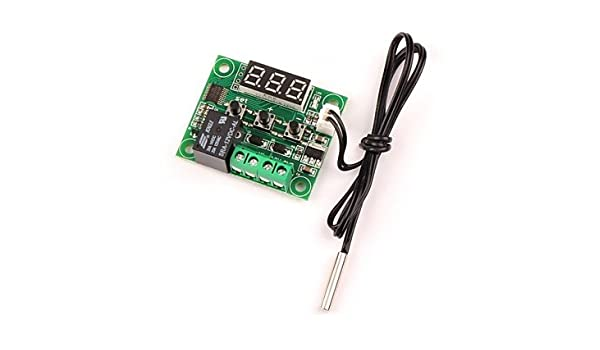 para Kits Arduino 12v DC Digital de refrigeración/calefacción termostato de Control de Temperatura -50-110 c Controlador de Temperatura 10a relé con: ...