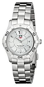 """TAG Heuer Women's WAF1412.BA0823 """"Aquaracer"""" Stainless Steel Dive Watch"""
