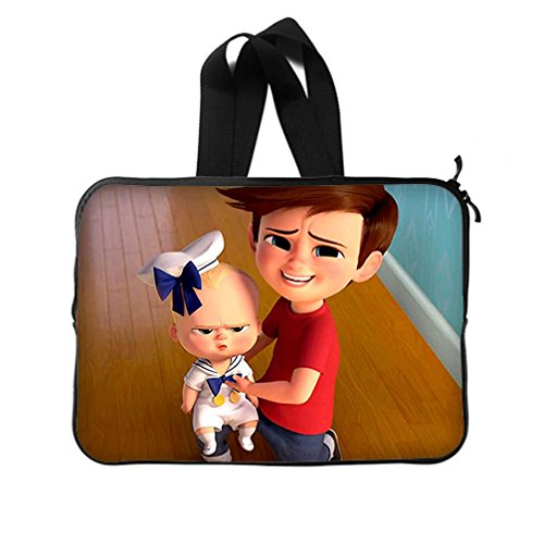 JIUDUIDODO Custom Lovely The Boss Baby Neoprene Laptop Sleeve 15