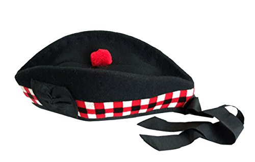 tamaños y pura White colores Boina todos escocesa Black lana 100 Red los Dice disponibles 0q0UZYCa