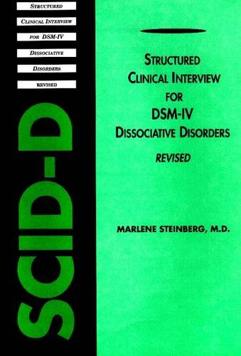 Structured Clinical Interview for Dsm-IV