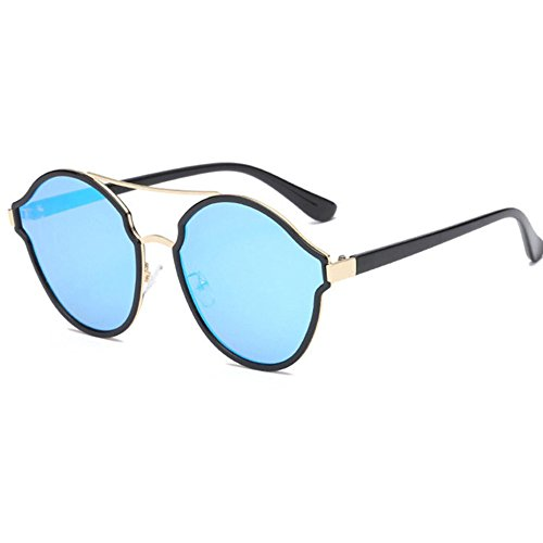 Aoligei Ladies tendance Bright couleur lunettes de soleil lunettes de soleil M6dnuo4