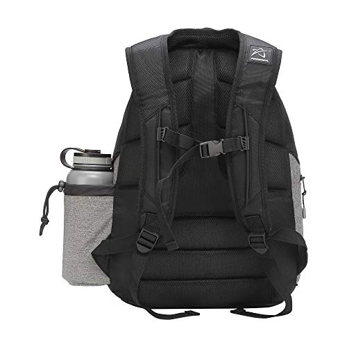 Prodigy Disc BP-3 V2 Disc Golf Backpack - Fits 17 Discs - Beginner Friendly, Affordable (Black/Heather Gray) by Prodigy Disc (Image #1)