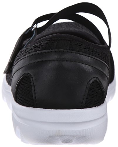 Propac Womens Travelactiv Mary Jane Mode Sneaker Noir