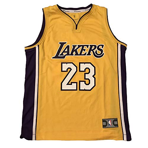 Lebron James Usa Jersey - Fanatics Branded LA #23 Player Name and Number Jersey - Youth (Medium, Gold)