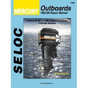 MERCURY Outboard VOL 2, 3 & 4 Cylinder 1965-1989 Repair Manual