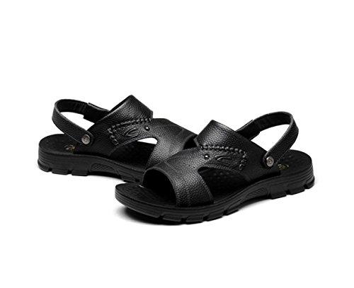 Zapatillas Playa Sandalias Para De Verano Black Hombres Antideslizantes Fq4BzZEwtx