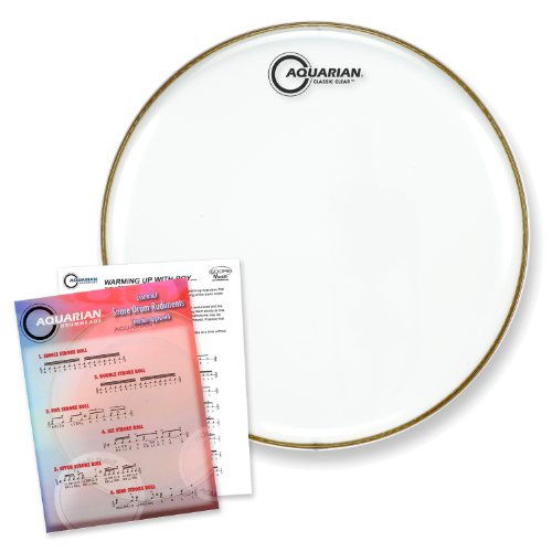 Clear Drum Head Snare Bottom (Aquarian 14