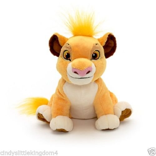 Lion King New Disney Store Simba Mini Soft Plush Bean Bag Toy (The Lion King Shenzi Banzai And Ed)