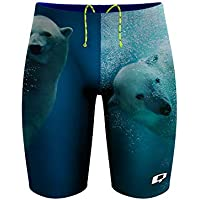Q Swimwear Swim Jammers for Men, Polyester Mens Jammer Swimsuit, Competitive Swimsuits for Men, Swim Jammers, Multiple Colors, Polyester Jammers, Men Swimwear Jammers
