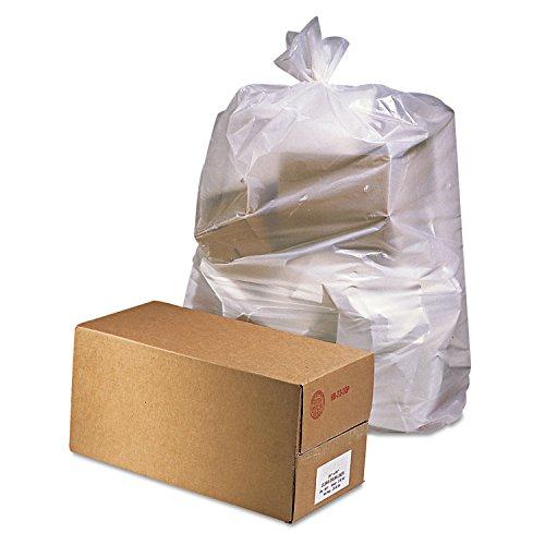 Jaguar Plastics D3865 Industrial Drum Liners, 38 x 65, 60gal, 2.5mil, Clear, 50 Bags per Roll (Case of 1 Roll)