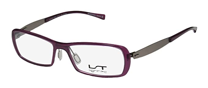 b60e4936190 Lightec By Morel 7033l Mens Womens Rectangular Full-Rim Shape Flexible  Hinges Colorful Exclusive