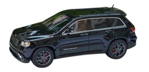 1/43 ジープ グランド チェロキー SRT8 2012 メタリックブラック GLM43108501