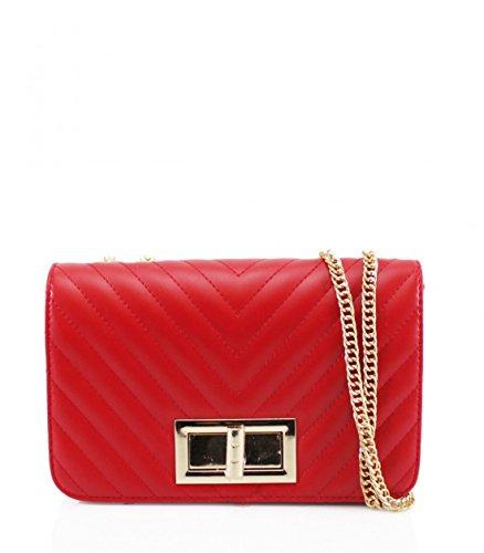 Elegant Sinttica de mano mujer Piel Cartera Red Fashions de para WYRqwrYP