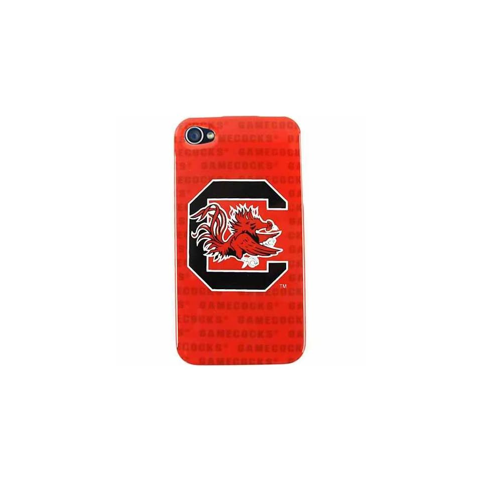 South Carolina Gamecocks Graphics NCAA College Team for Apple iPhone 4 4S Faceplate Hard Back Protector Case Snap On Cover fits Sprint, Verizon, AT&T