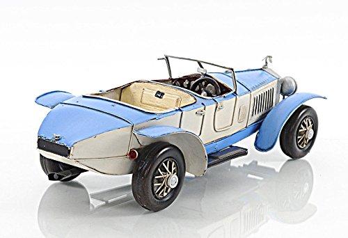 - 1928 Rolls Royce 17Ex Sports Torpedo Metal Car Model 13.5