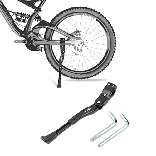 FORTOP Bike Support Bicycle Kickstand Adjustable Aluminum Alloy for 22