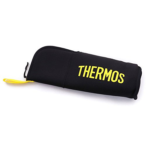 THERMOS 「산전용 보틀」전용 파우치 0.9L 블랙 옐로우(BKY) FFX-900POUCH