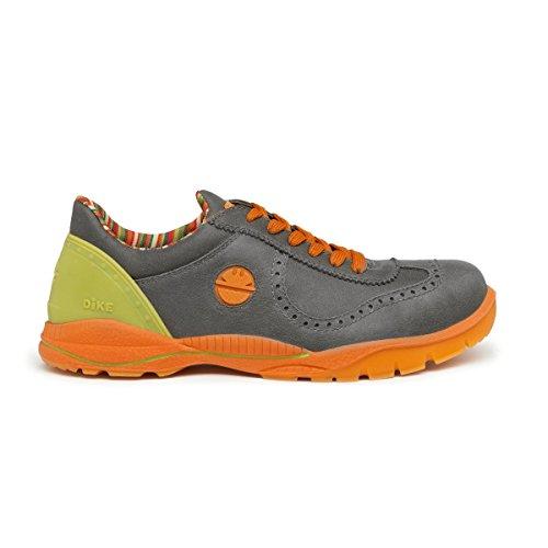 DIKE scarpe antinfortunistiche da lavoro, jumper Jet S3London Fog/grigio