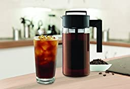 Takeya Cold Brew Iced Coffee Maker, 1-Quart, Black