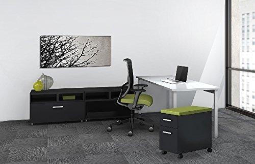 Mayline Reconfigurable Desk W/Extra Storage Desk: 60''W X 24''D X 29.5''H Open Storage Cabinet: 30''W X 18''D X 21.75''H Lateral File Storage Cabinet: 30''W X 18''D X 21.75''H - Expo Sprout