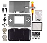 Gametown Full Housing Shell Cover Case Pack for Nintendo DS NDS Repair Part Color Silver
