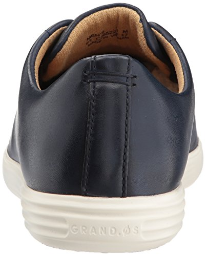 Cole Haan Mens Grand Crosscourt Ii Sneaker Navy Läder Skinande