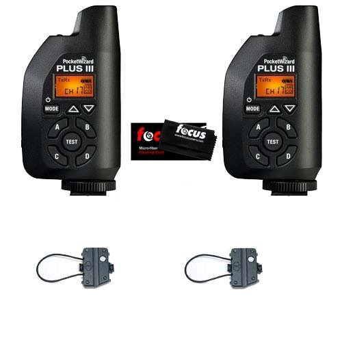 PocketWizard Plus III Transceiver + Hildozine Transceiver Caddy V3 for PocketWizard Plus III by PocketWizard