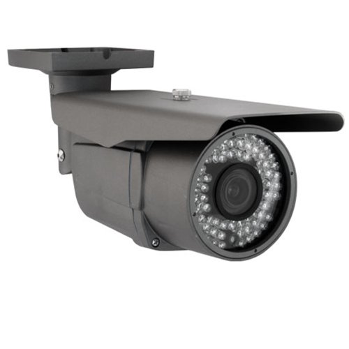 Top Best Market Value America GW Professional SONY Exview CCD Security Camera 700 TV lines 2.8~12mm Varifocal 72 Pieces IR LED 197 FT IR Distance WDR - Wide Dynamic Range - OSD Menu - Vandal Proof - Water Proof