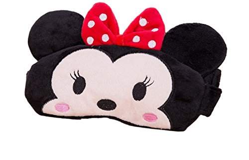 Minnie Mouse Character Cooling Eye Therapy Plush Sleep Mask