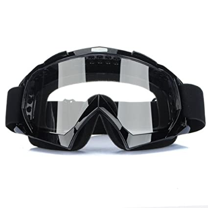 81d243d576 Amazon.com  Funnytoday365 Super Motorcycle Bike Atv Motocross Ski Snowboard  Off-Road Goggles Fits Over Rx Glasses Eye Lens  Car Electronics