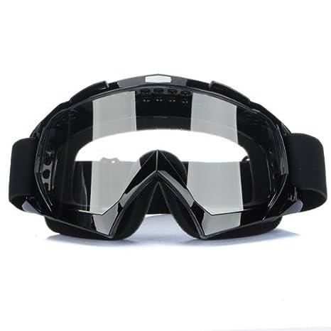 19cf53a92b Amazon.com  CALAP-STORE - Super Motorcycle Bike ATV Motocross Ski Snowboard  Off-road Goggles FITS OVER RX GLASSES Eye Lens  Home Improvement