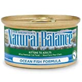 Natural Balance Ultra Premium Canned Cat Food Ocean Fish Formula