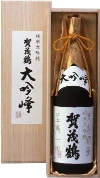 賀茂鶴酒造 賀茂鶴 純米大吟醸 大吟峰 1800ml 1本化粧箱入 お届けまでに10日ほどかかります