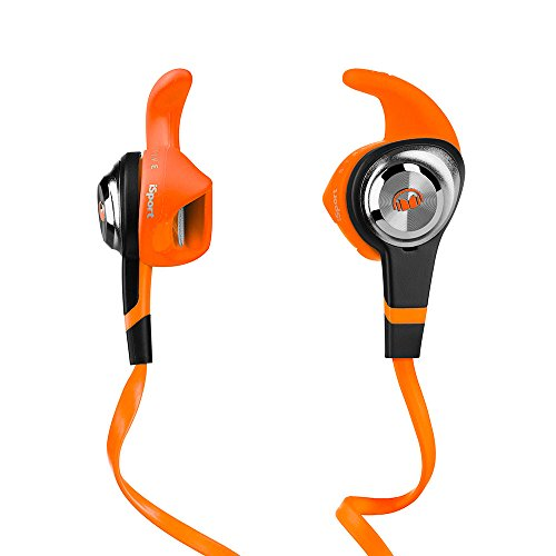 Monster iSport Strive In-Ear Headphones Orange 3 Button