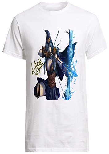 League of Legends Champion Ashe Ad Carry Shirt Custom Fruit of the Loom T-shirt (M)