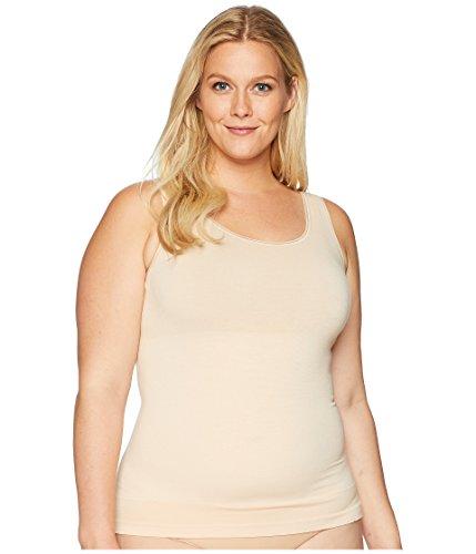- Yummie Women's Seamless Reversible Shapewear Tank Top, Frappe 2X/3X