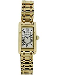 Tank Americaine quartz womens Watch 1710 (Certified Pre-owned)