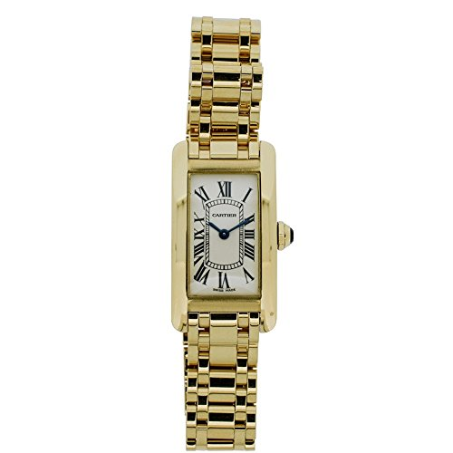 Cartier Tank Americaine quartz womens Watch 1710 (Certified Pre-owned) by Cartier