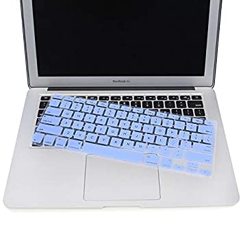 with or w//Out Retina Display, 2015 or Older Version Premium MacBook Backlight Shine Through Hollow Out Black Silicone Keyboard Cover Protector for MacBook Air 13,Pro13//15//17 /&Older iMac