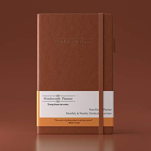 Brown 2019 Dated Planner