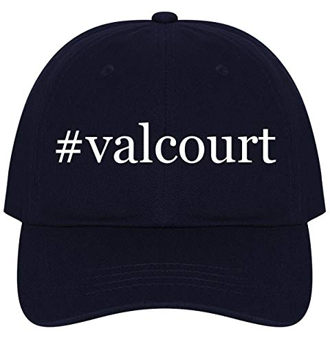 - The Town Butler #Valcourt - A Nice Comfortable Adjustable Hashtag Dad Hat Cap, Navy