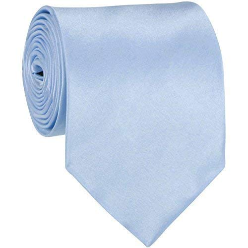 Trimming Shop Sky Blue Neck Tie Soft Polyester For Formal Wear, Weddings,...