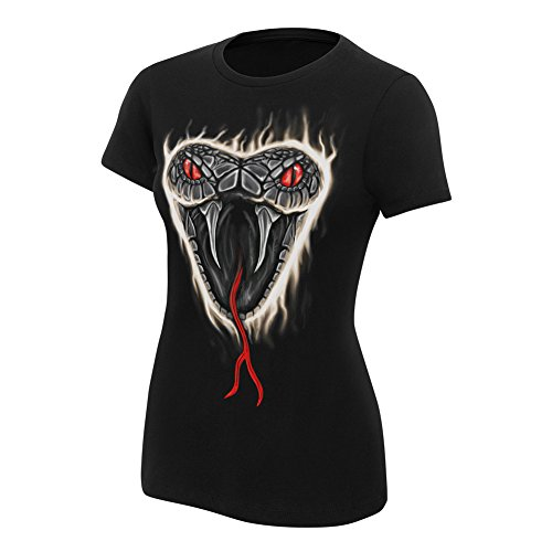 WWE Randy Orton Apex Predator Women's Authentic T-Shirt Black Small by WWE Authentic Wear