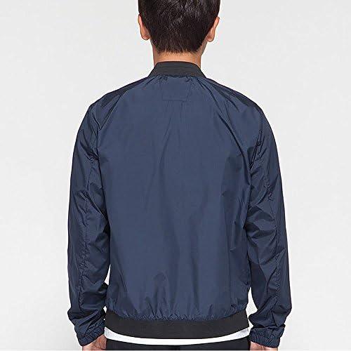 メンズ ウインドブレーカージャケット超軽量 アウト 無地 薄手 メンズ ジャケット春秋 (M-3XL) (グレー(L))