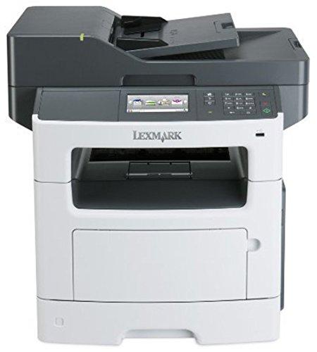 Lexmark 35S5703 MX511de B/W Multifunction Printer with Scanner, Copier, Fax - Monochrome - 45 ppm - 1200 x 1200 dpi - USB 2.0 (Certified Refurbished) ()