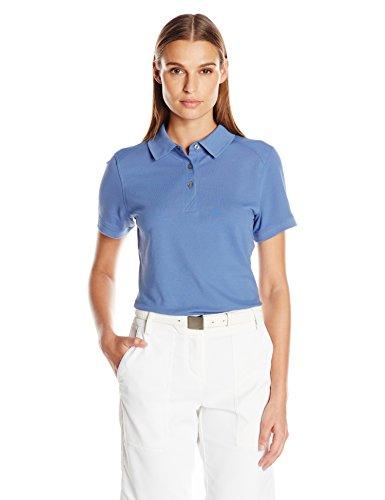 Cutter & Buck Women's Cb Drytec Cotton+ Advantage Polo, Sea Blue, M