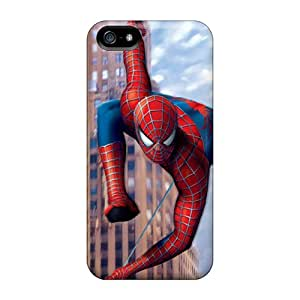 IanJoeyPatricia Apple Iphone 5/5s Shock Absorption Cell-phone Hard Cover Allow Personal Design Beautiful 3d Spiderman Series [aPt22395QBjp]