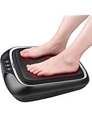 RENPHO Foot Massager with Heat, Shiatsu Electric Foot Massager Machine with Heat- Kneading Foot & Back Massager for Foot and Leg Massager, Relieve Pain & Stress of Foot and Back for Home & Office