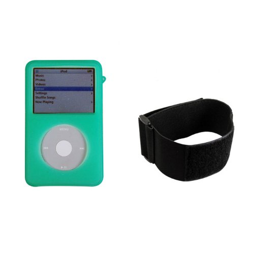 Cta Digital Skin Case for Ipod Video Green